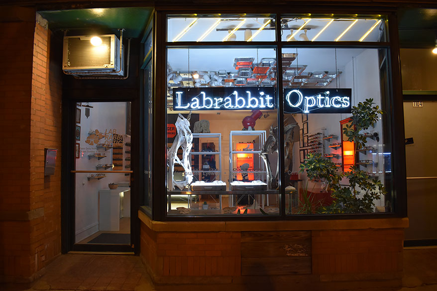 81f98fc26c43 Living in the Future Thanks to the Indie Branding Effort at Lab Rabbit  Optics in Chicago