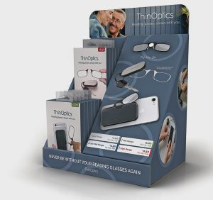 OptiSource Rolls Out New ThinOptics Countertop Display