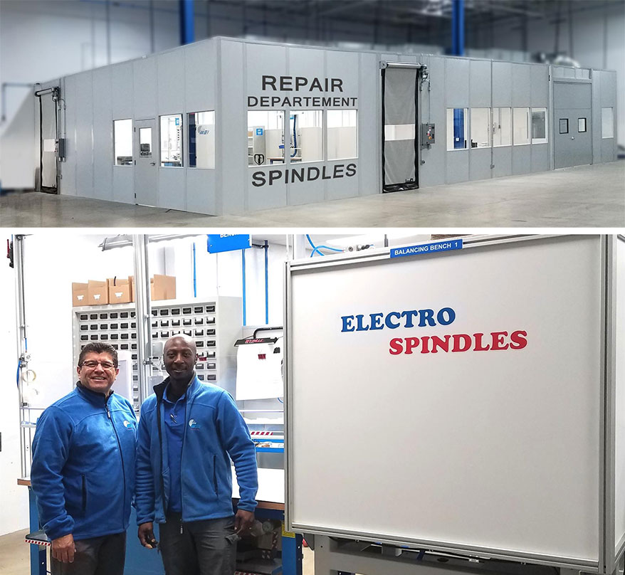MEI Unveils US Repair Facility