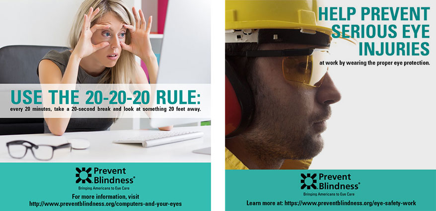 Prevent Blindness Declares March Workplace Eye Wellness Month
