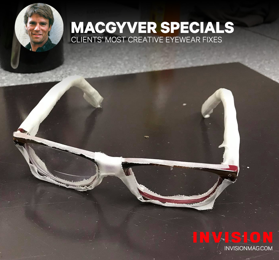 The Mummy Frames … and More of Your Clients' Wildest MacGyver-Style Client Repairs