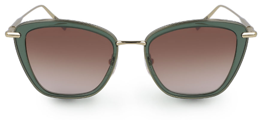 d593d15a85f The Longchamp 638S from Marchon is a full-rim plastic in a cat eye shape.  The feminine silhouette gets a pop of color from its contrasting lens rim.