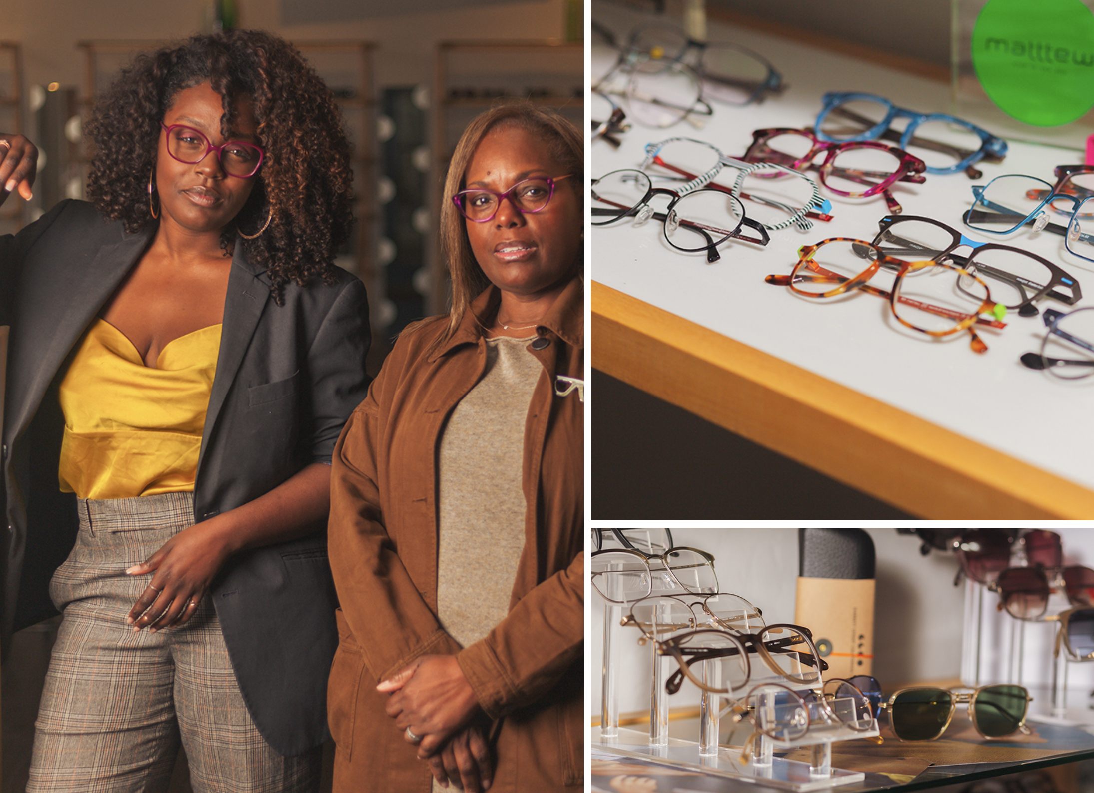 6e52c48e79ca Annisa (l) and Julia Laval have brought true optical knowledge, new  techniques and unique, fresh brands to Berkeley, CA, with Cutting Edge.