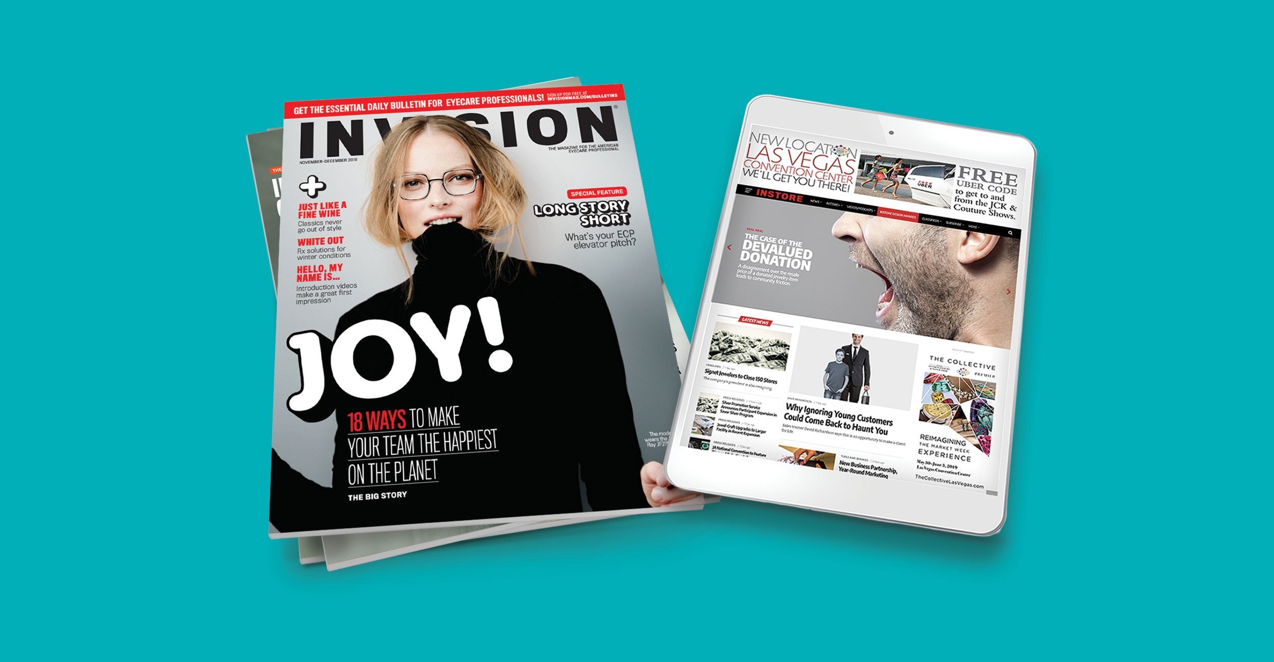 INVISION Wins Jesse H. Neal Award for Best Single Issue