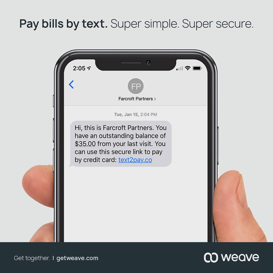 Weave Announces Innovation in Payments, Increasing Customers' Bottom Line
