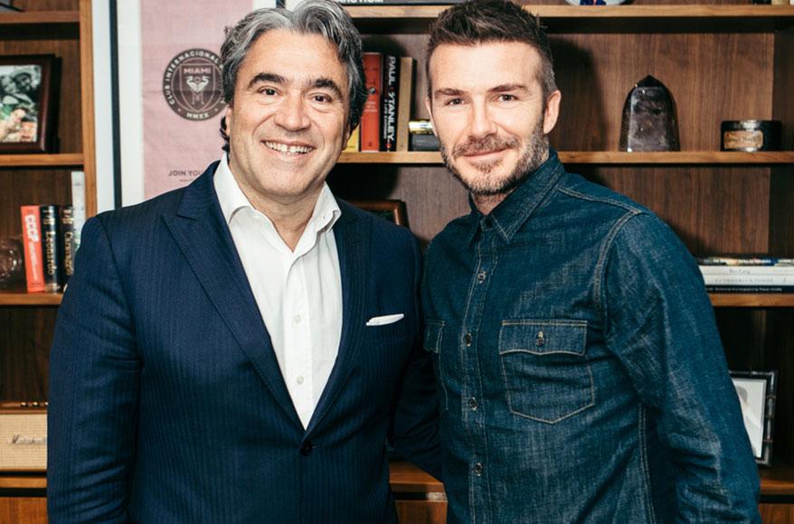 Safilo and David Beckham Announce 10-Year Eyewear License Agreement