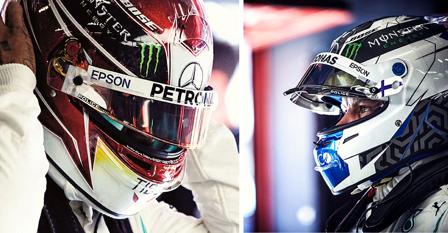 De Rigo's Police Brand Signs Sponsorship Deal with Lewis Hamilton and Mercedes-AMG Petronas Motorsport