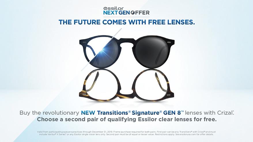 Essilor of America Celebrates Launch of Transitions Signature Gen 8
