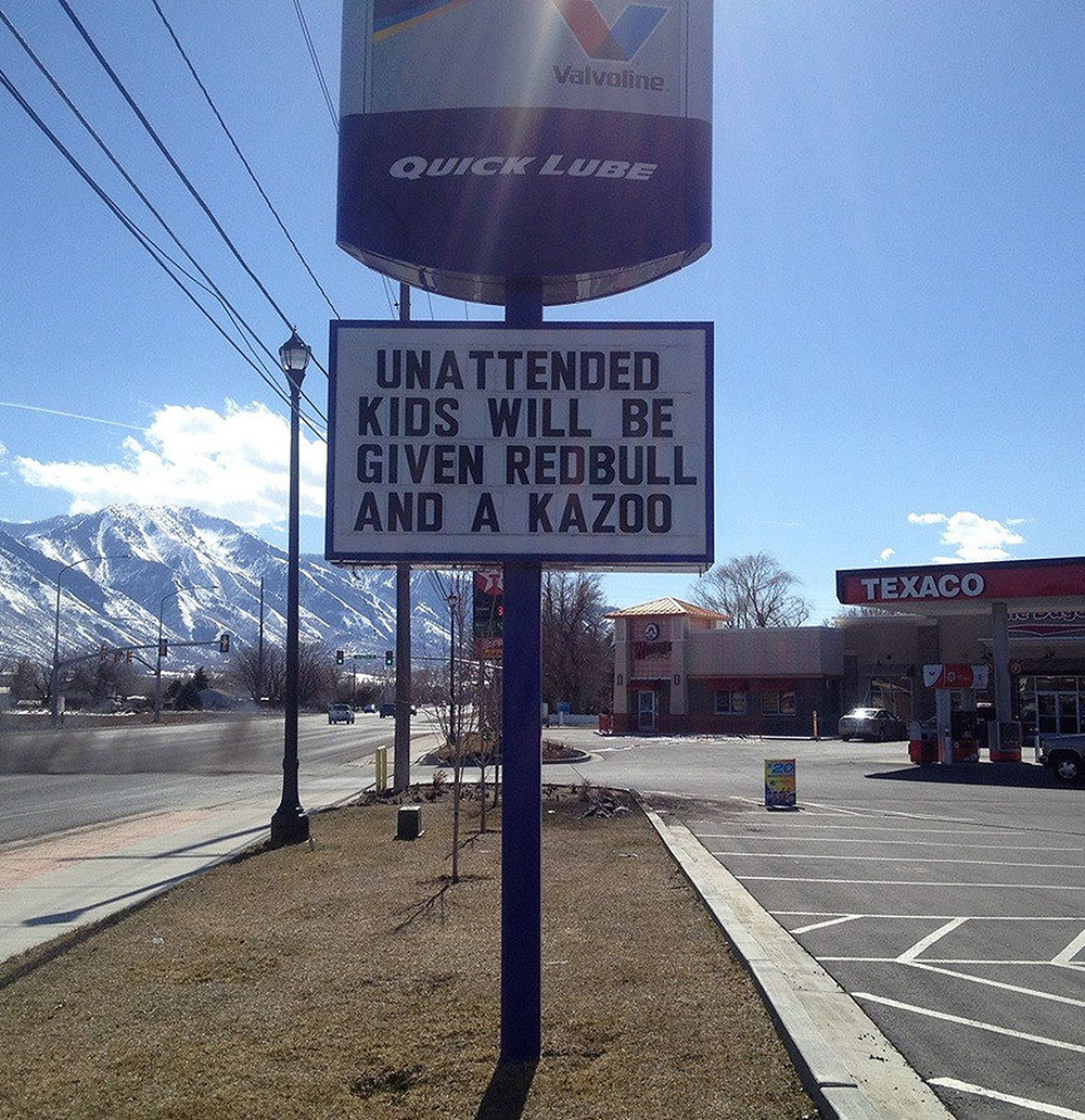 See One Business's Funny Plea For Better Customer Behavior … Plus 27 More Pretty Hilarious Retailer Signs