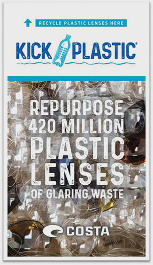 Costa Expands Lens Recyling Program to Optical Labs