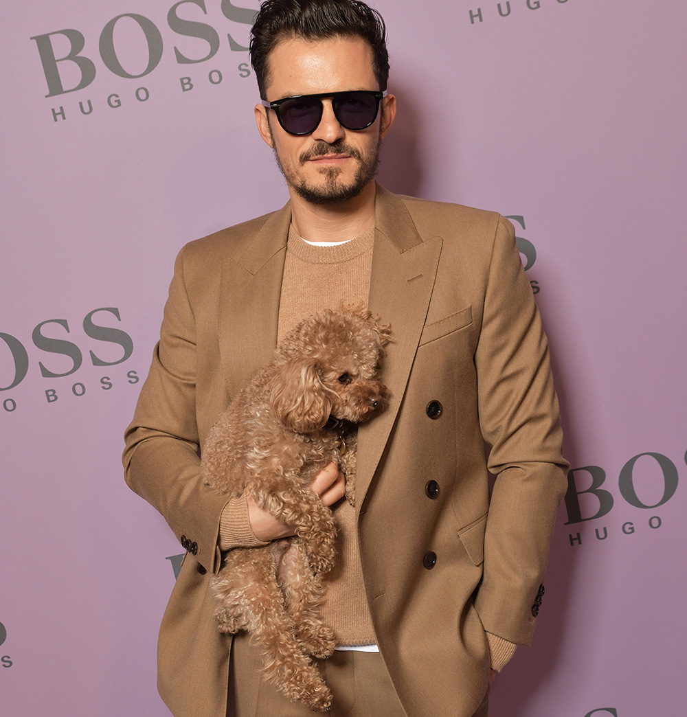Orlando Bloom Shows Who's Boss at Milan Fashion Week … and More Celebrities in Eyewear