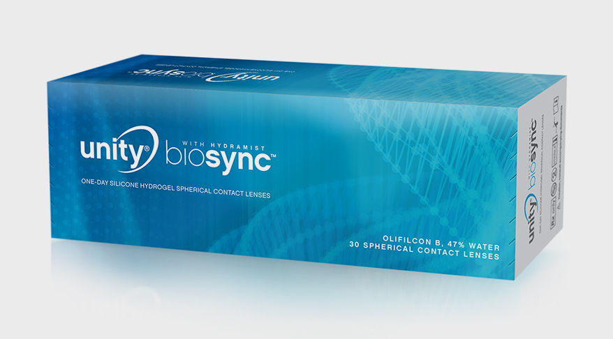Unity BioSync contact lenses from VSP Global