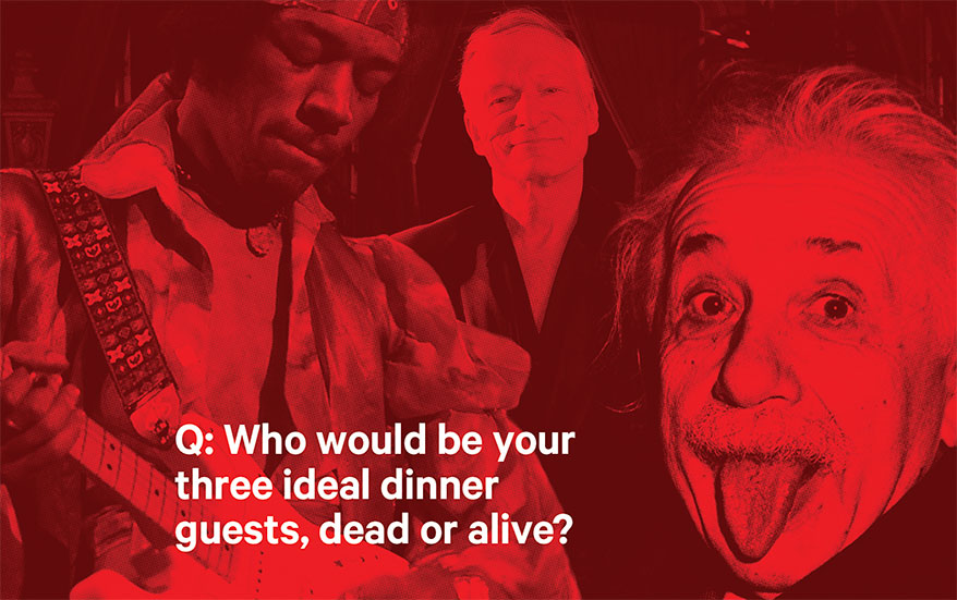 You're Having a Dinner Party … These are the Three People – Dead or Alive – You'd Invite
