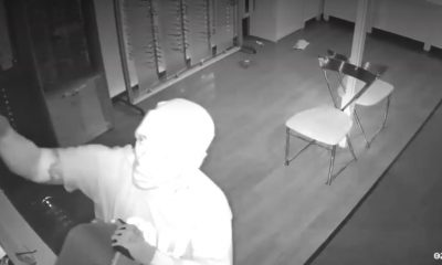 Video: Burglar Makes Off with $19K in Eyewear
