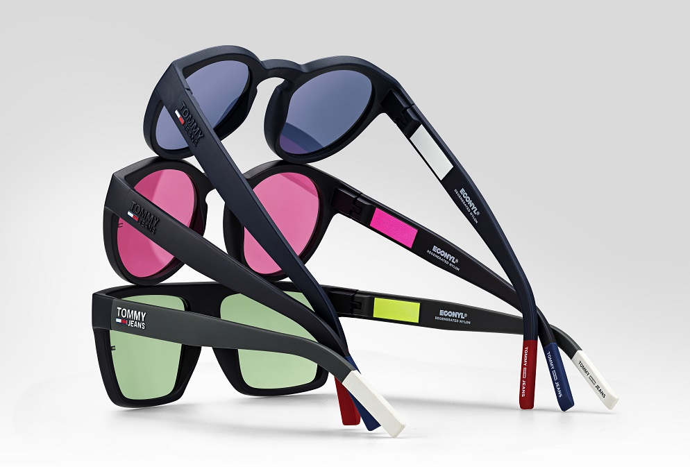 Safilo and Aquafil Econyl eyewear