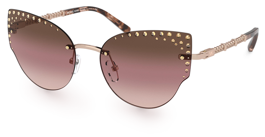 Mikael Kors sunglasses with Swarovski crystals