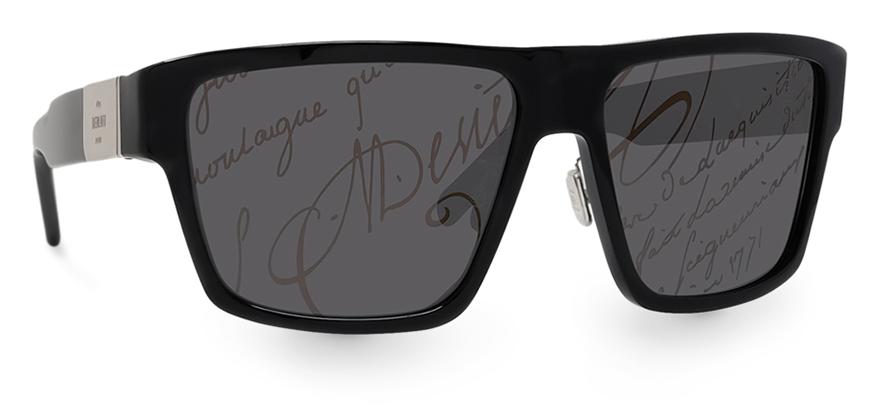 Thelios sunglasses features smoke lenses