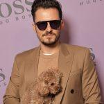 Orlando Bloom in Boss sunglasses