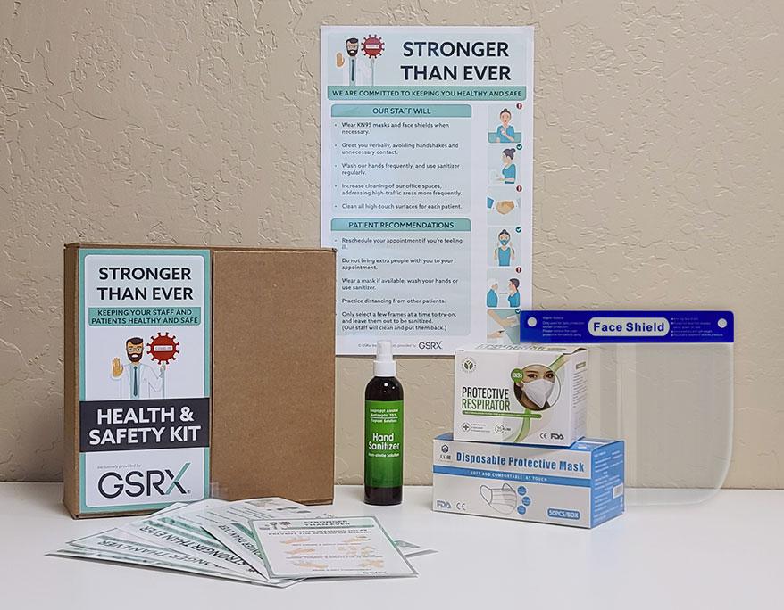 GSRx STE Kit Contents
