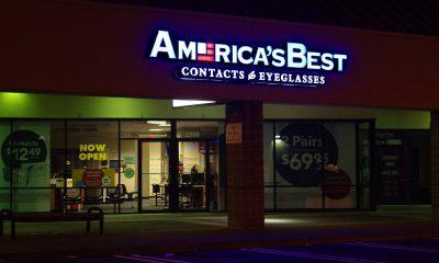 America's Best Eyeglasses store