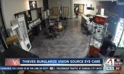 Optometry office burglary in Kansas City