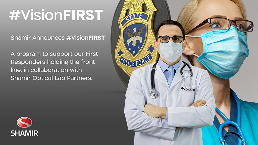 Shamir Announces #VisionFIRST to Support First Responders