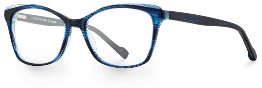 Scott Harris 696 c02 navy eyeglasses
