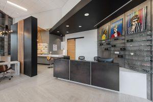 Urban Eyecare lobby desk