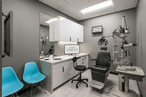 Urban Eyecare treatment room