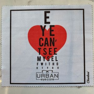 Urban Eyecare cloth