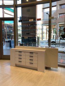 Urban Eyecare products display