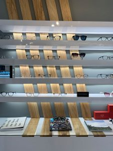 Urban Eyecare products display