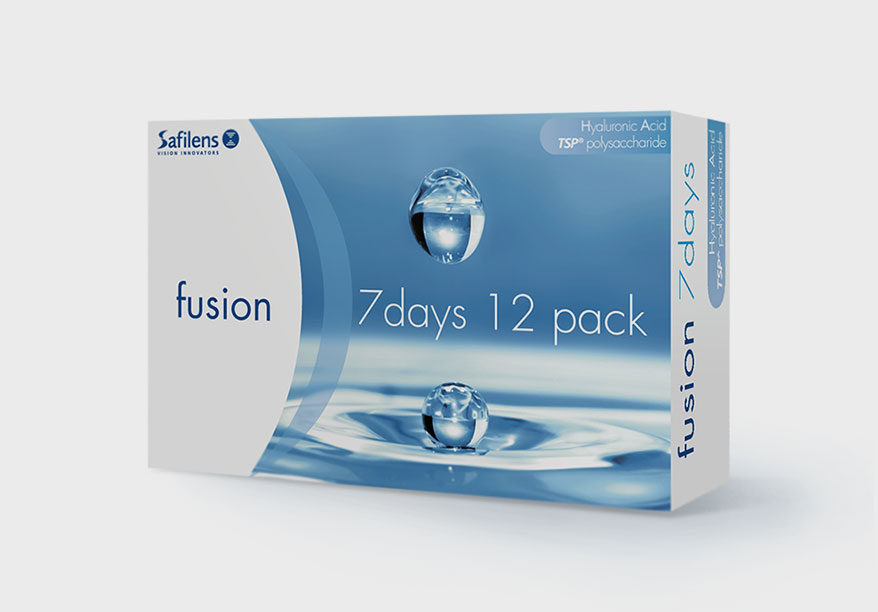 fusion 7days lenses