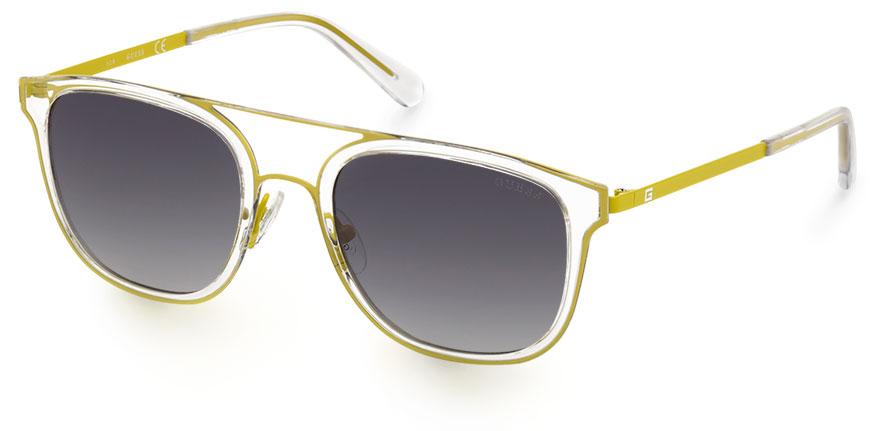 ellow Marcolin GUESS yellow 111097 GU6981 39C 01 eyewear