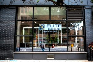 Elite Eye Care front view