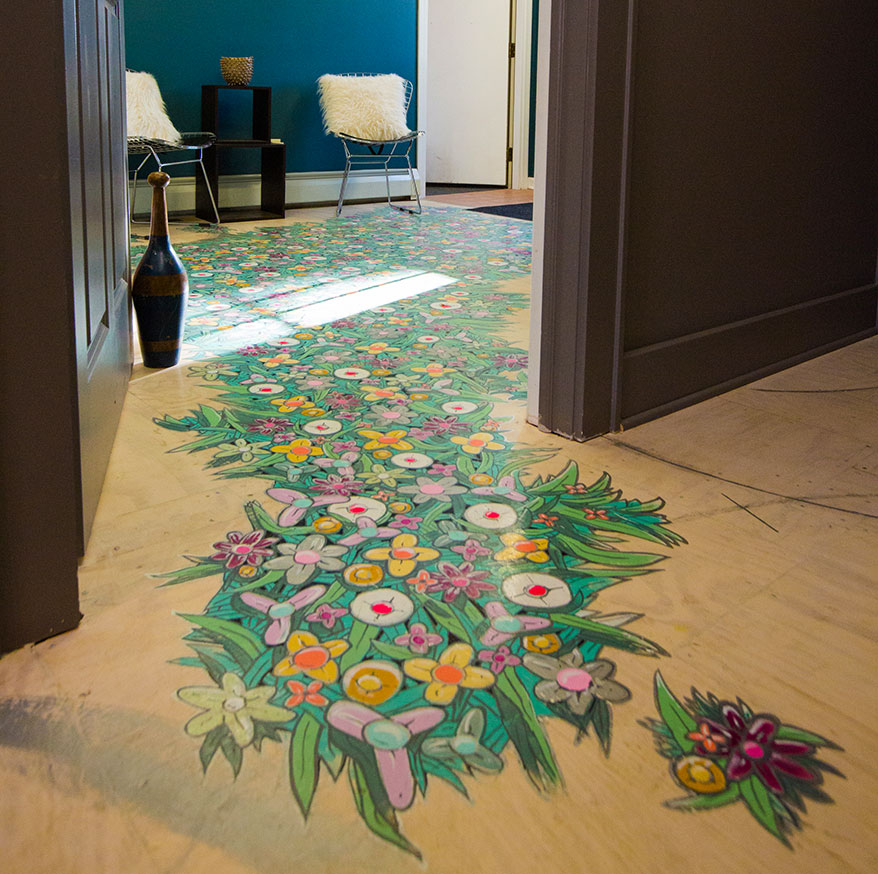 One Hip Chic Optical floor