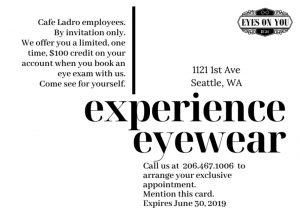 Eyes On You marketing