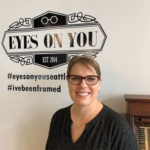 Eyes On You owner Evie Lawson