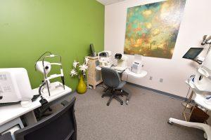 Uptown Eyes exam room