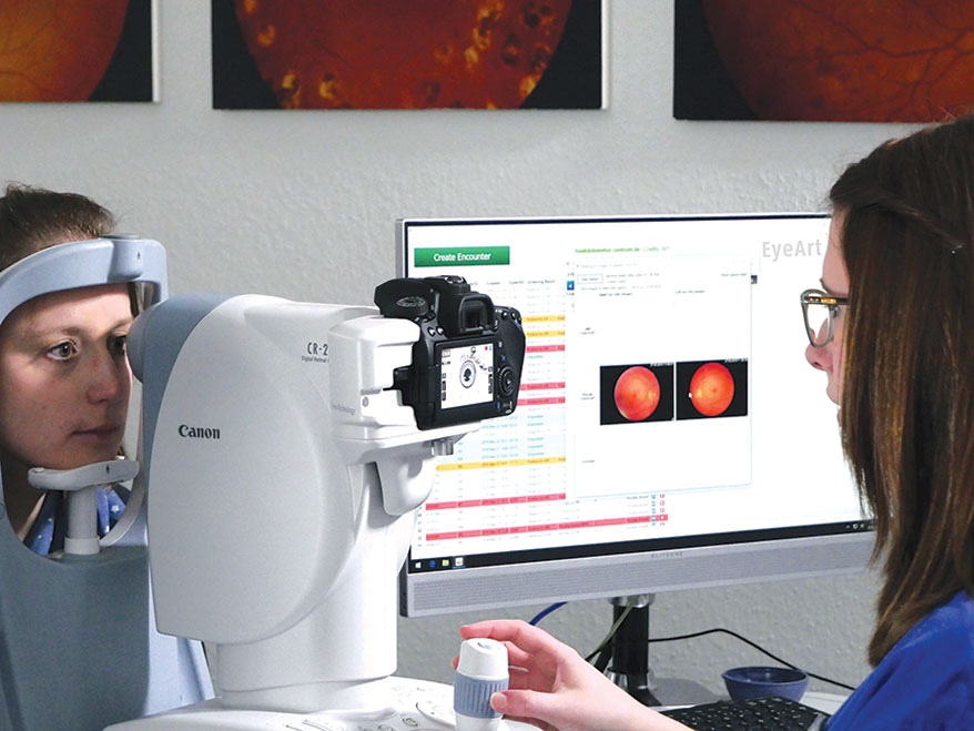 EyeNuk EyeArt AI Eye Screening System