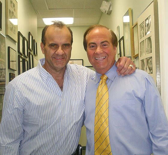 Dr. Don Teig with former New York Yankees manager Joe Torre