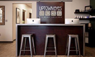 Uptown Eyes' front desk