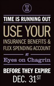 Eyes on Chagrin marketing