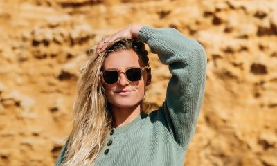 female surfer Lakey Peterson wearing Blenders Eyewear