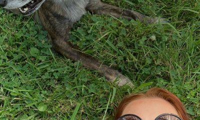 Dee Carrol and dog