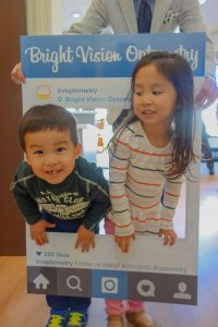 Bright Vision Optometry kids client