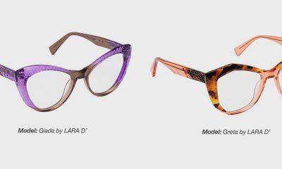 Lara D' ophthalmic models