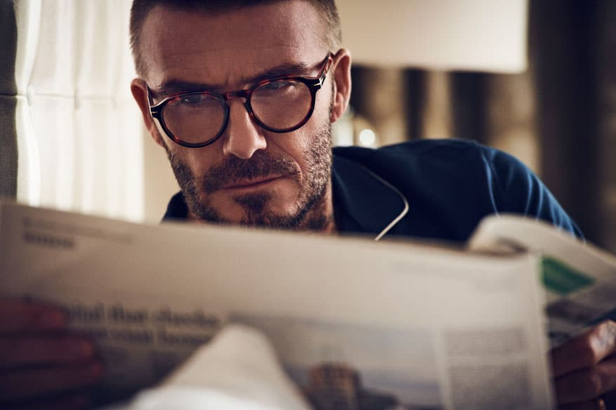 David Beckham for DB 7021 Optical Frames