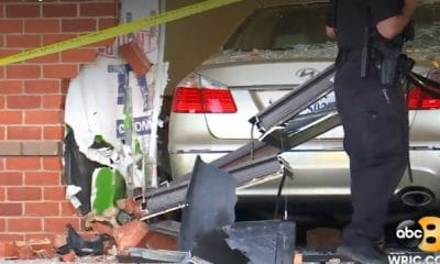 Video: Car Crashes Into Optometry Office; 4 Taken to Hospital