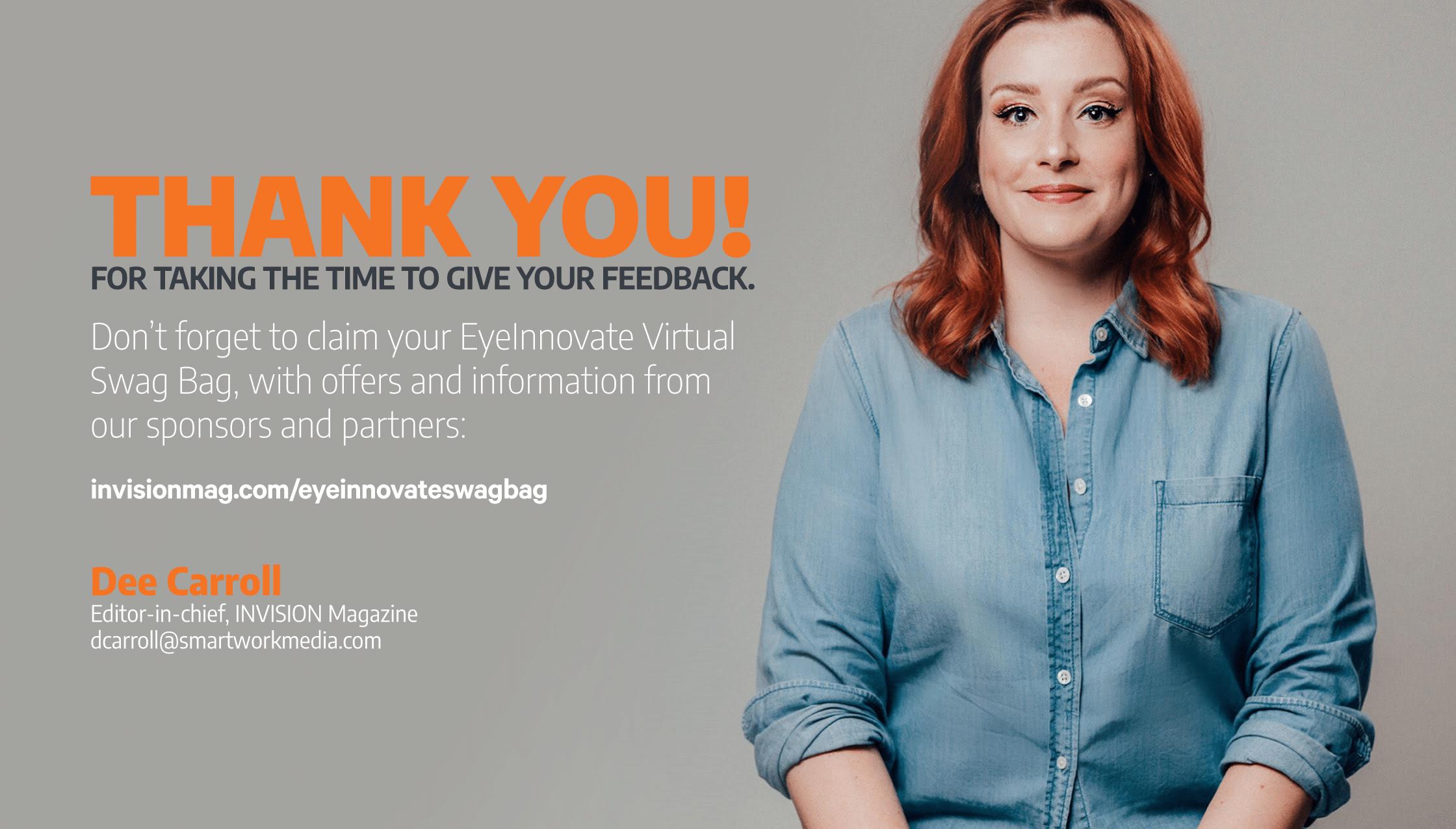 EyeInnovate Survey: Thank You